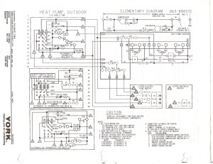 York Electric Furnace Wiring Diagram Collection | Wiring