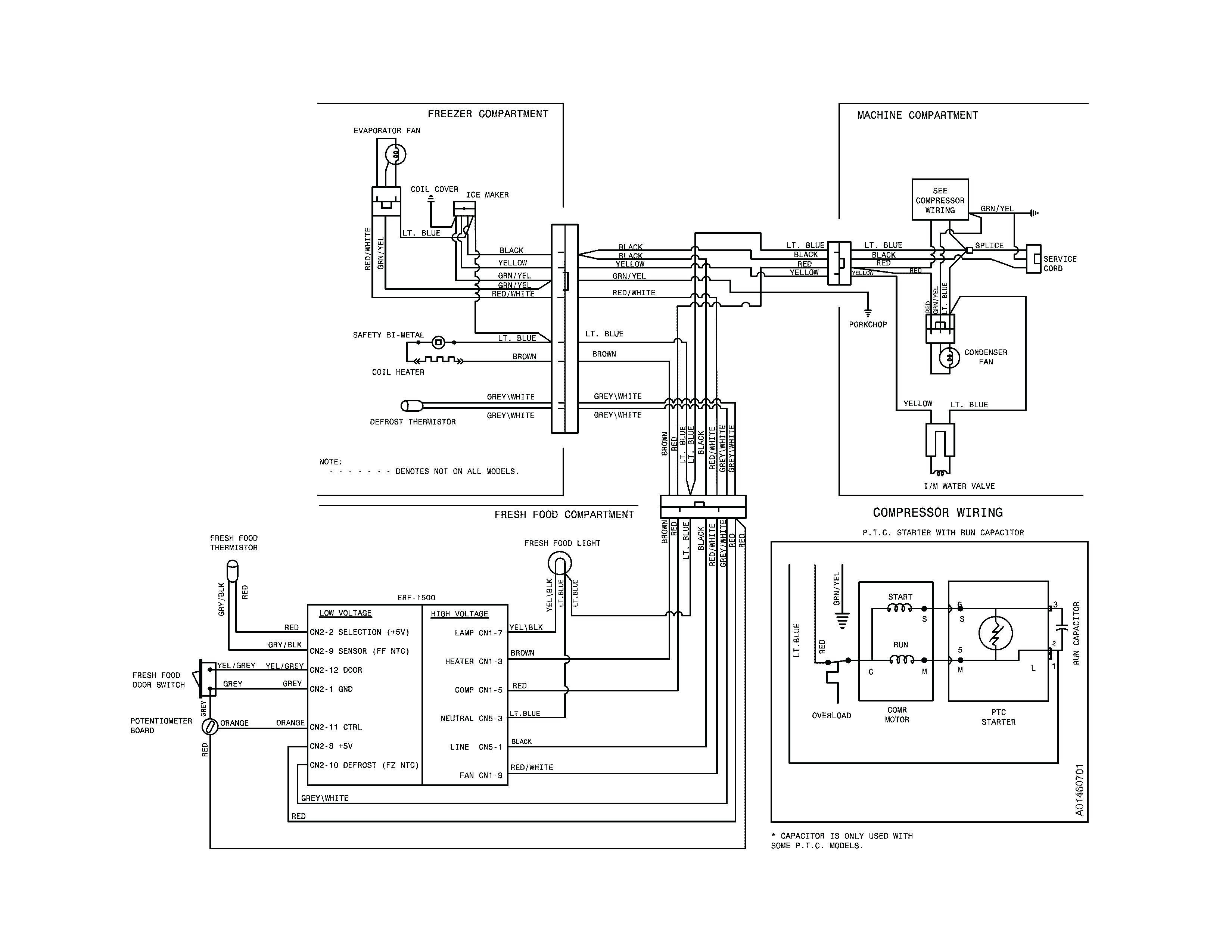 Frigidaire Refrigerator Wiring Diagram Collection