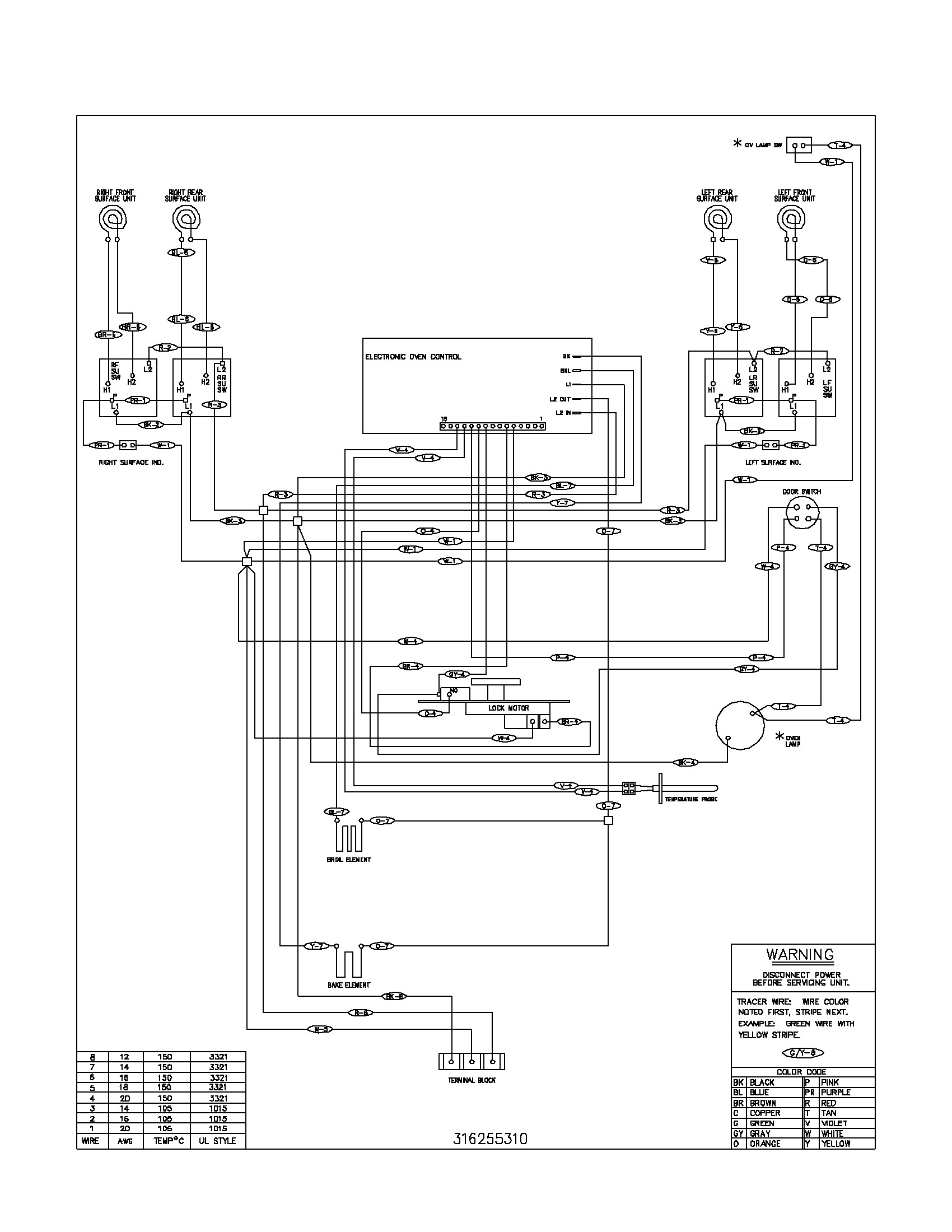 9 Pin Motor Wiring Diagram