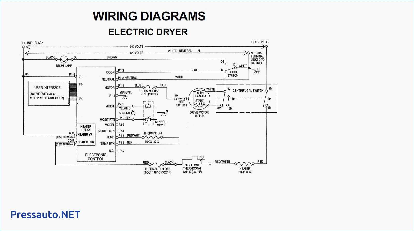 4 Wire Dryer Plug Diagram