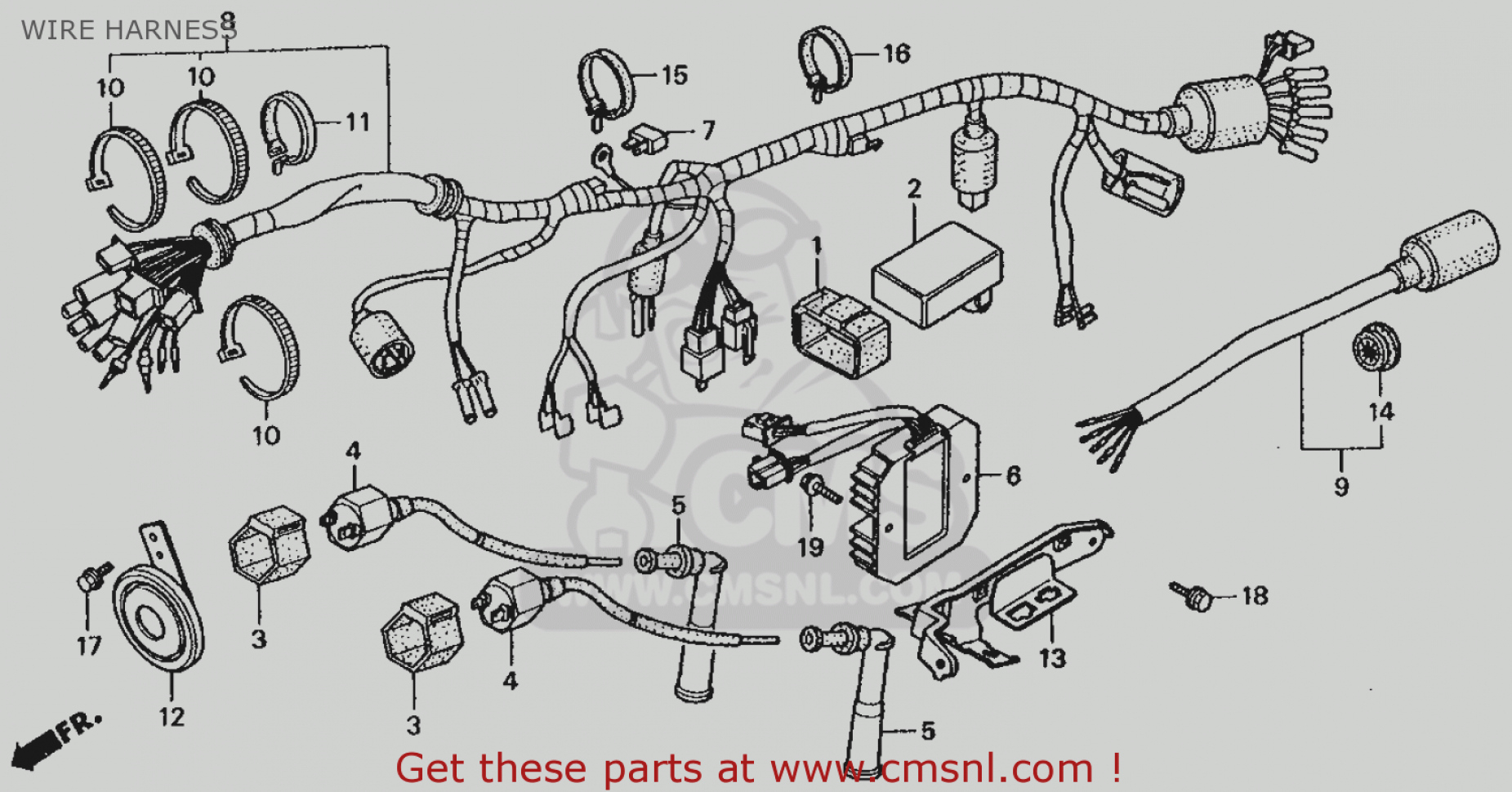 Yamaha 250 Wiring Diagrams