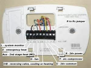 Honeywell Th5220d1003 Wiring Diagram Collection | Wiring