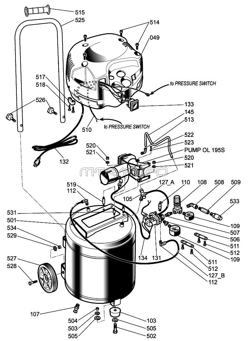 Exelent craftsman air pressor wiring diagram photo simple