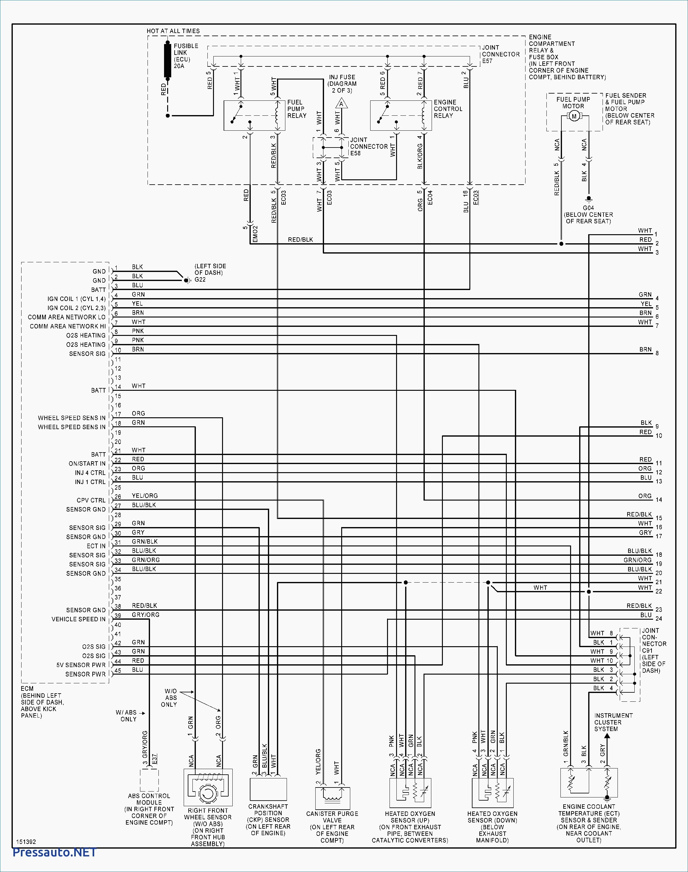 Hyundai Sonata Wiring Diagram Tcm