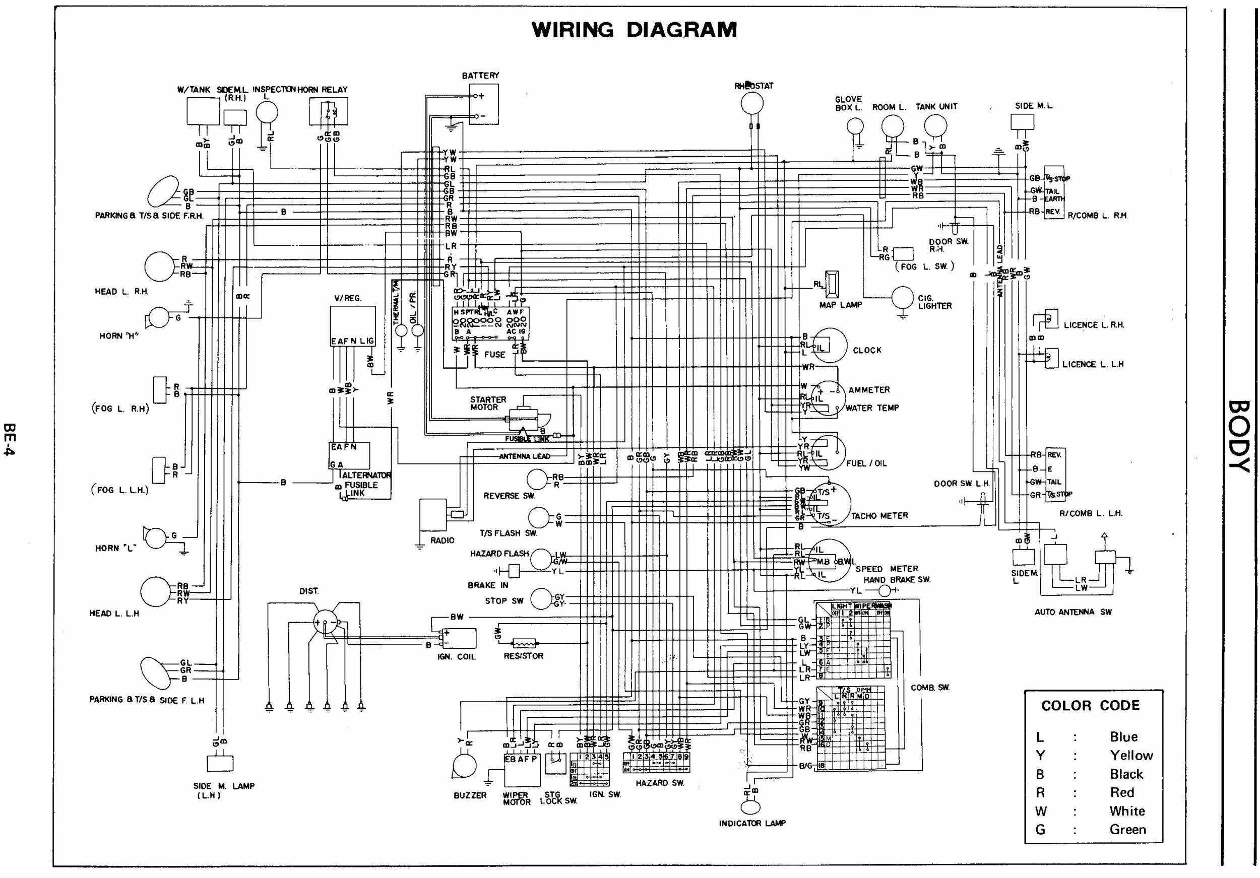00 Toyota Radio Wiring Diagram