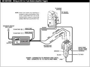 Msd 6al Hei Wiring Diagram Collection | Wiring Diagram Sample