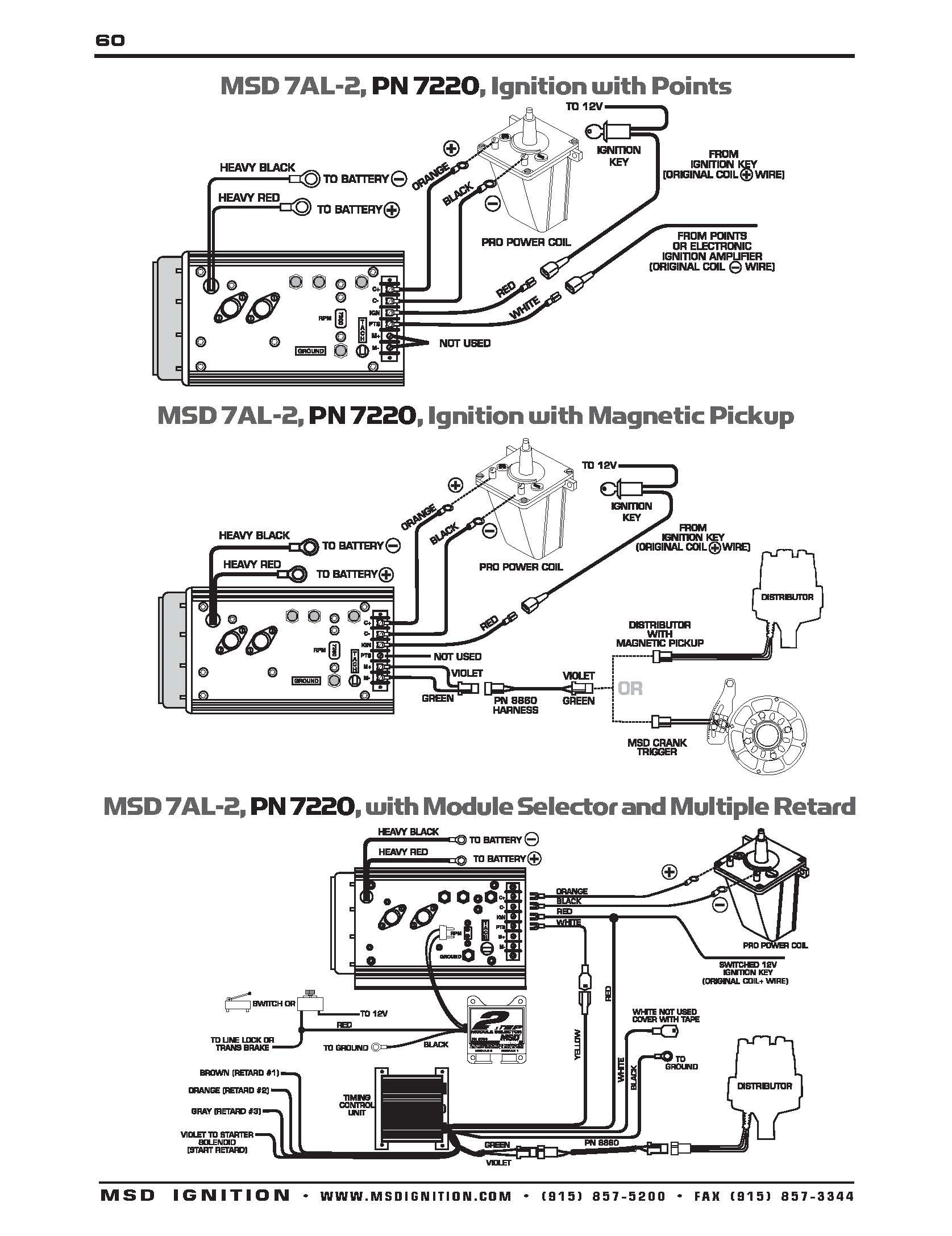 Msd 6al Wiring Diagram Chevy Hei