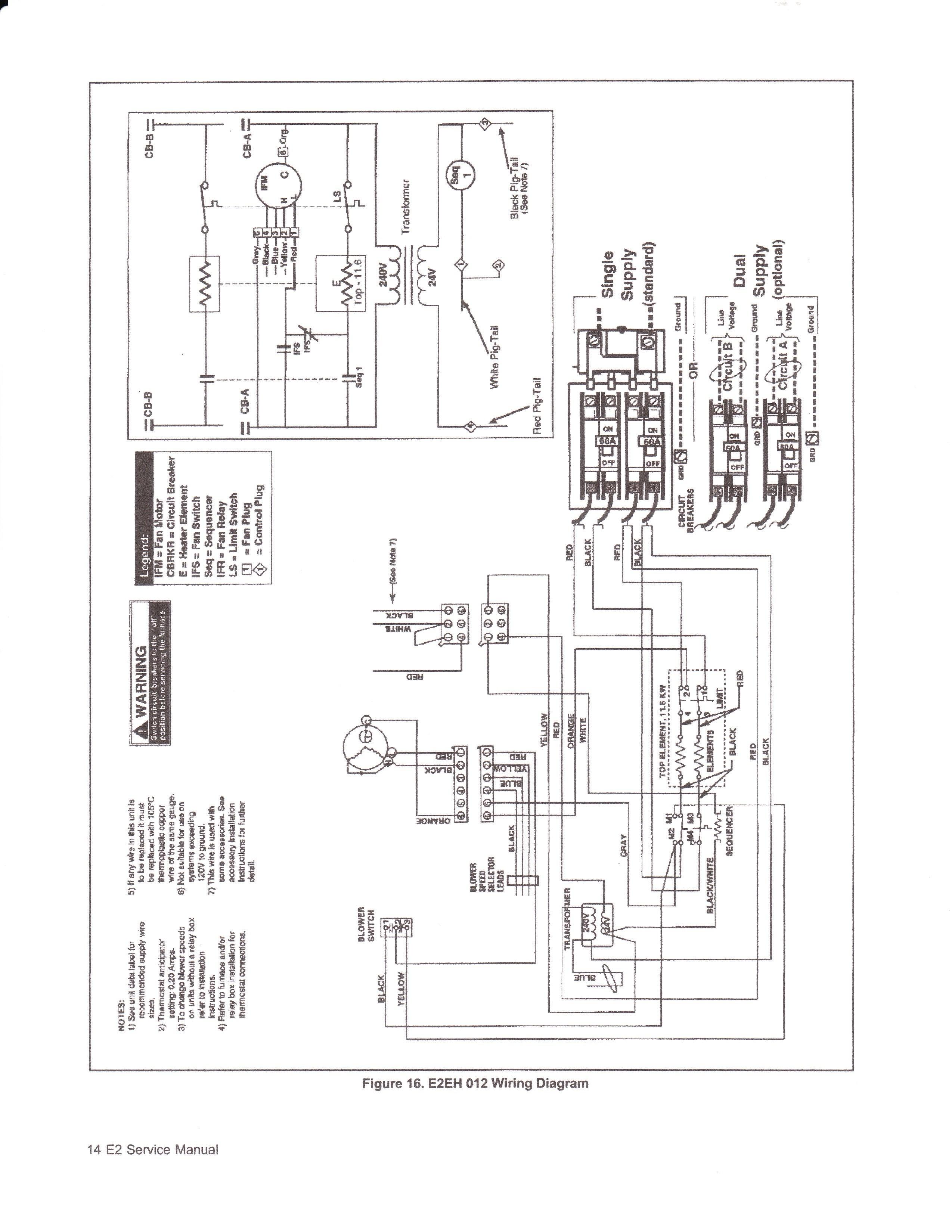 Nordyne Furnace Wiring Diagram Download