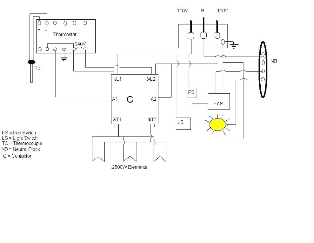Wiring Electric Oven Diagram