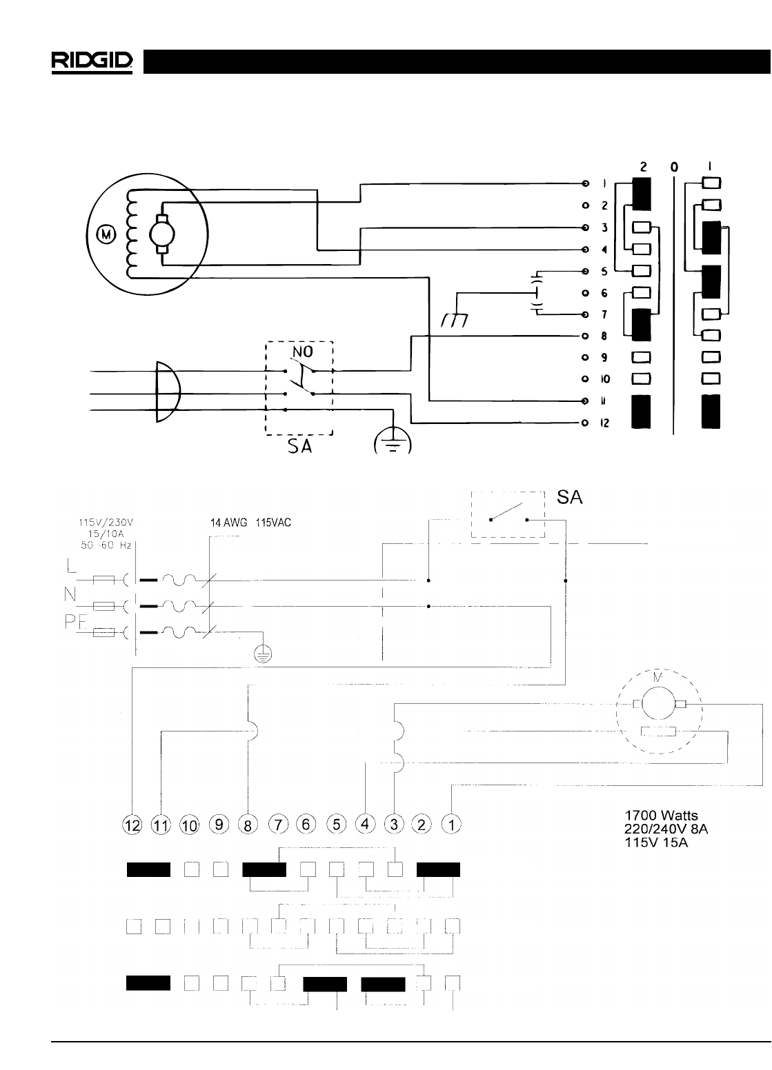 Ridgid 300 Switch Wiring Diagram Download