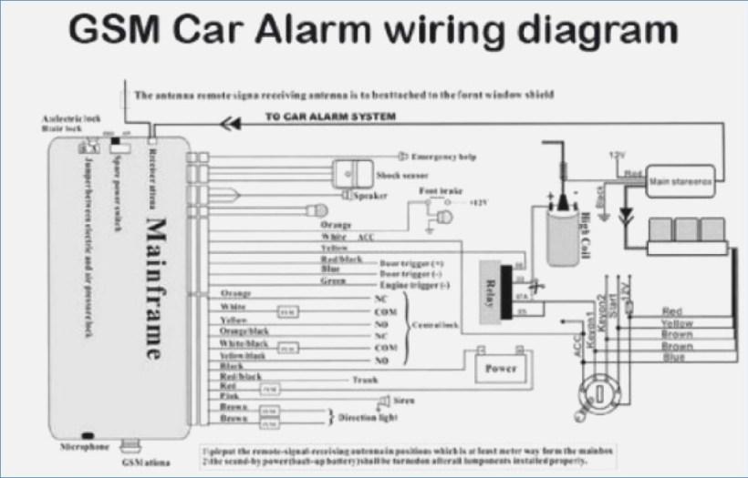 motorcycle alarm wire diagram complete wiring diagrams