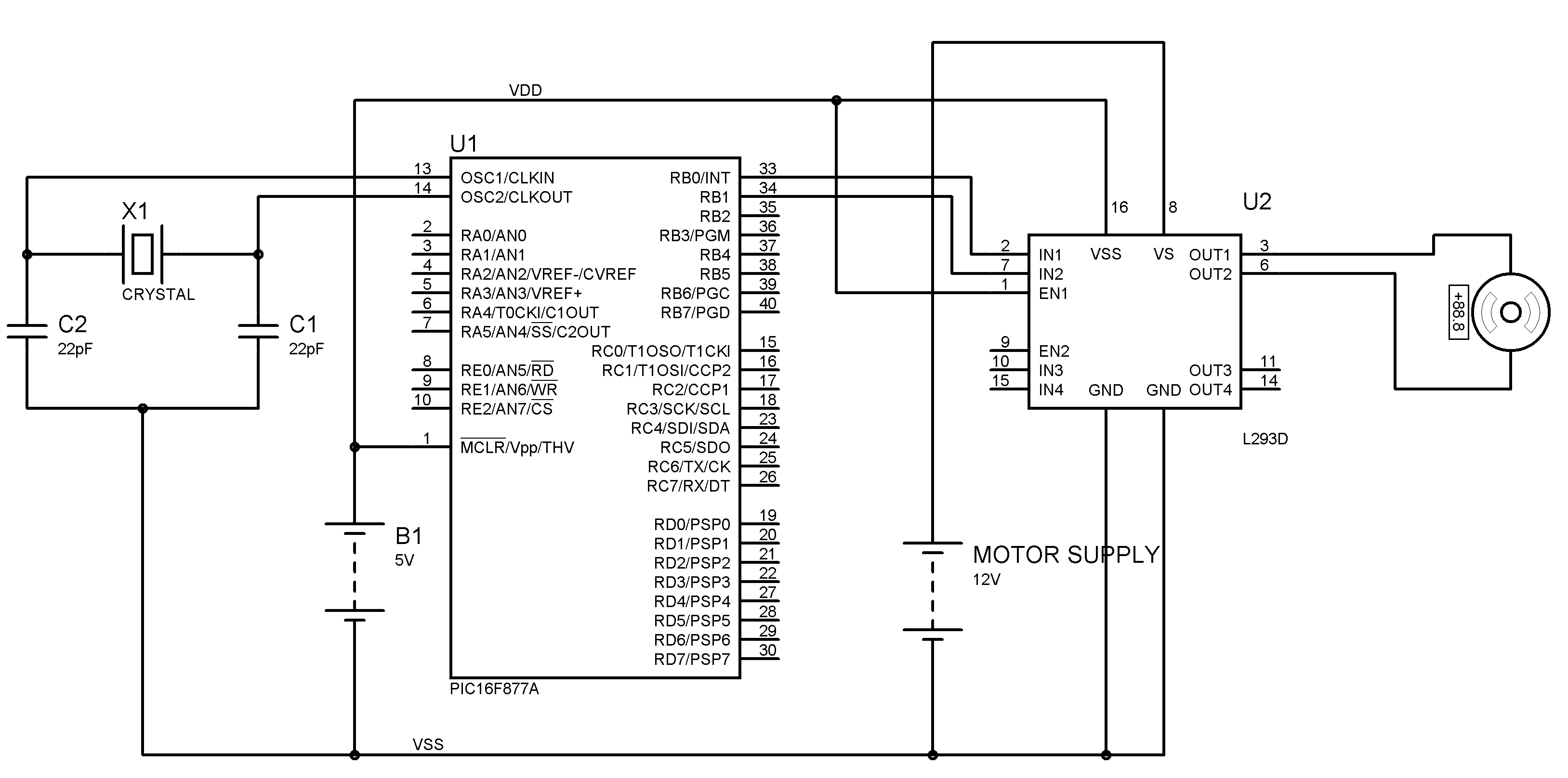 Servo Motor Wiring Diagram Sample