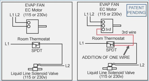 Walk In Cooler Thermostat Wiring Diagram on