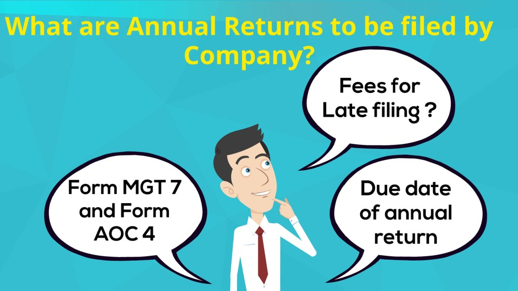 What are Annual Returns to be filed for Company?