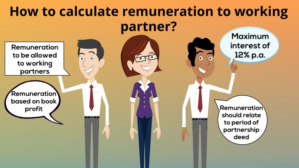 How to Calculate Remuneration of Working Partner as per Income Tax?