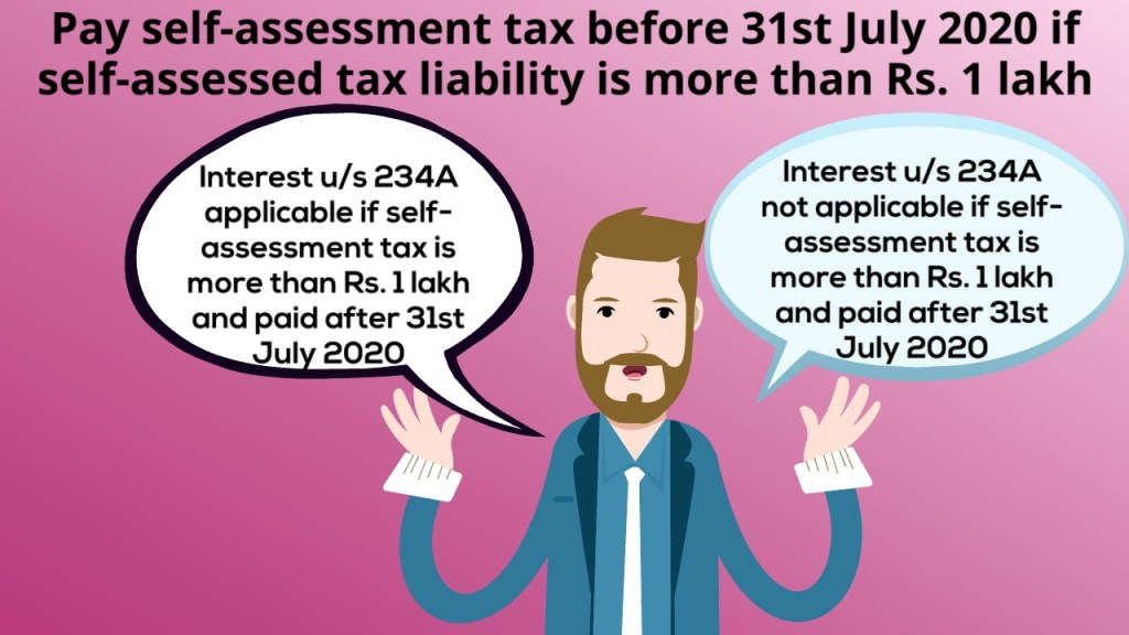 Pay your Income Tax for FY 2019-20 before 31 July 2020 if tax liability is more than Rs 1 lakh