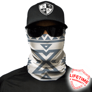 Aztec Face Shield - Face Mask - One Size
