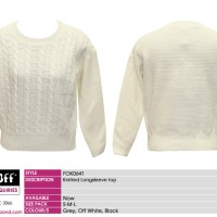 FOK0641-OFFWHITE