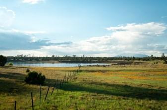 Pasture Lake and Mountain