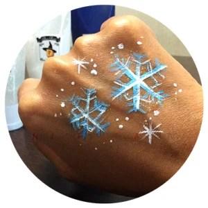ペイント×デザイン2016年2月号雪の結晶