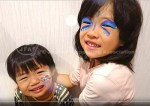 お誕生会フェイスペイント】Vol.1 バタフライ&バルーン描き方動画 サムネイル