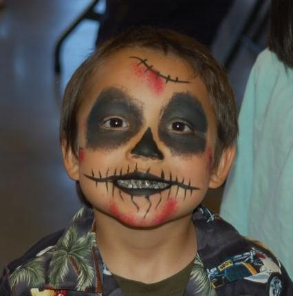 zombie-facepainting