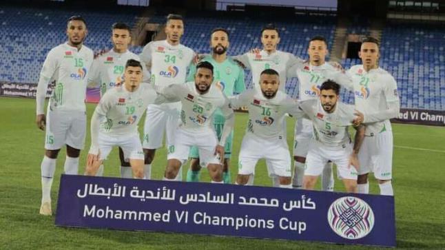 الرجاء يتأهل بجدارة لنهائي كأس محمد السادس للأندية الأبطال