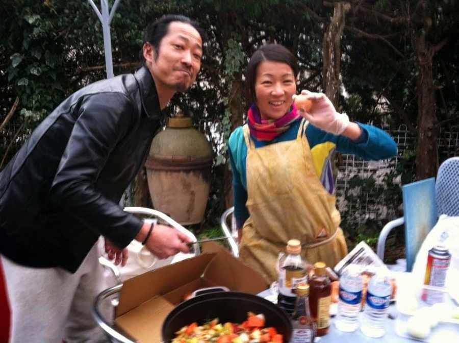 Two Japense Chefs