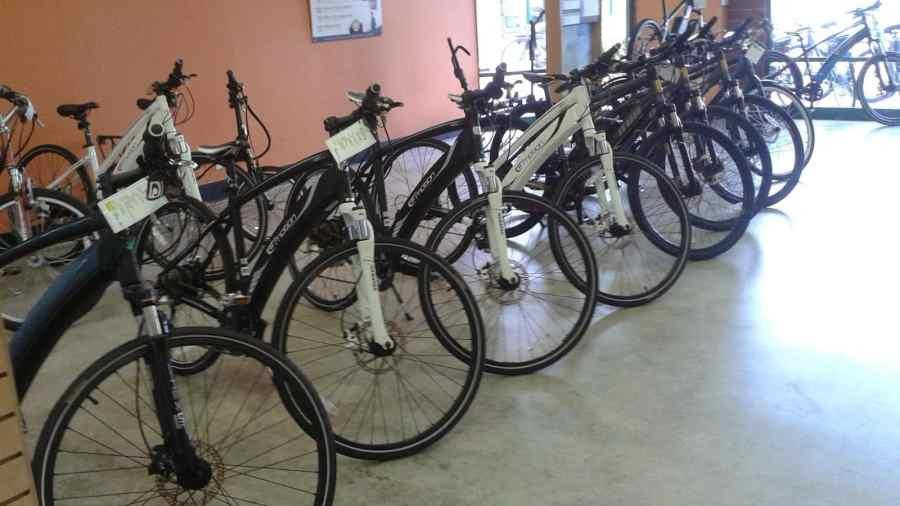E-Bikes at Cynergy E Bikes