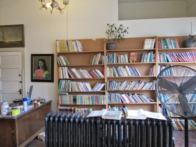 Inside Book Journals Shop