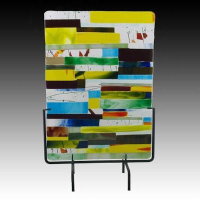 Glass Sheet by Kandyse Whitney