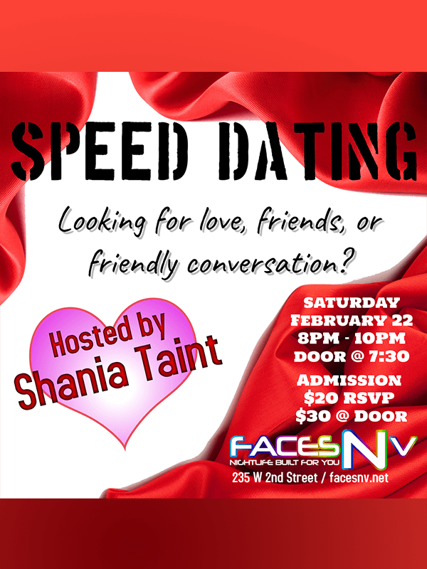FacesNV - Speed Dating - Feb 22