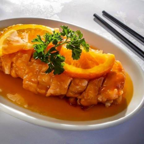 Chicken Fillet with Orange Liqueur Sauce
