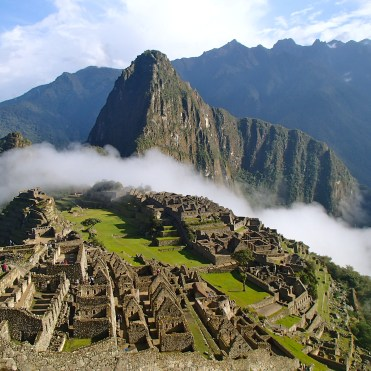 Inca trail in Peru