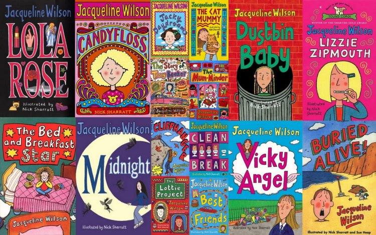 Books by Jaqueline Wilson and Nick Sharratt