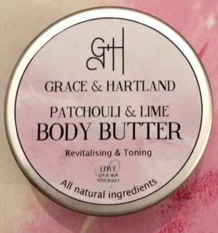 Patchouli and Lime Body Butter