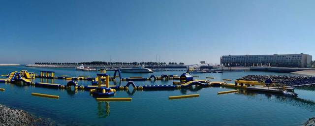 Millennium Resort Mussanah Unveils First Floating Aqua Park