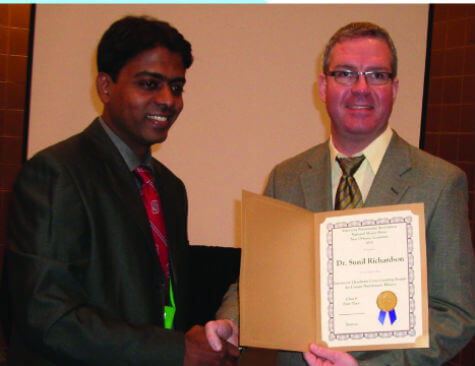 Certificate from the President of the ANA