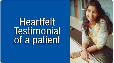 Heartfelt Testimonial of a Patient