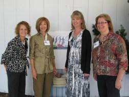 02 Board Members Teri Karjala Jennifer Vagher Founder Joan Rogliano and Board Member Rhonda Sinnema