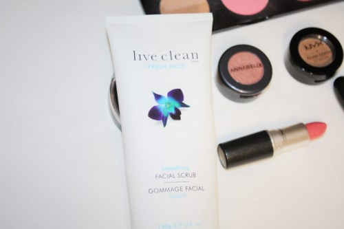 Live Clean Fresh Face Smoothing Facial Scrub Review