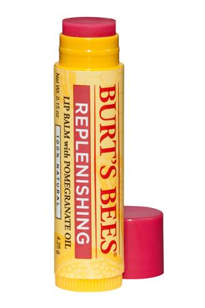 Burts Bees Replenishing Lip Balm with Pomegranate Oil