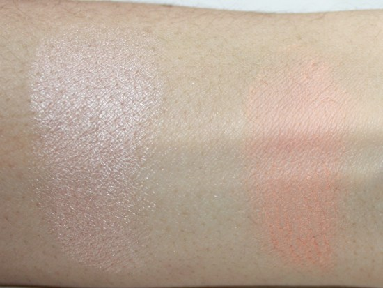Makeup-Geek-Eyeshadow-Review-Shimma-Shimma-peach-smoothie-swatches