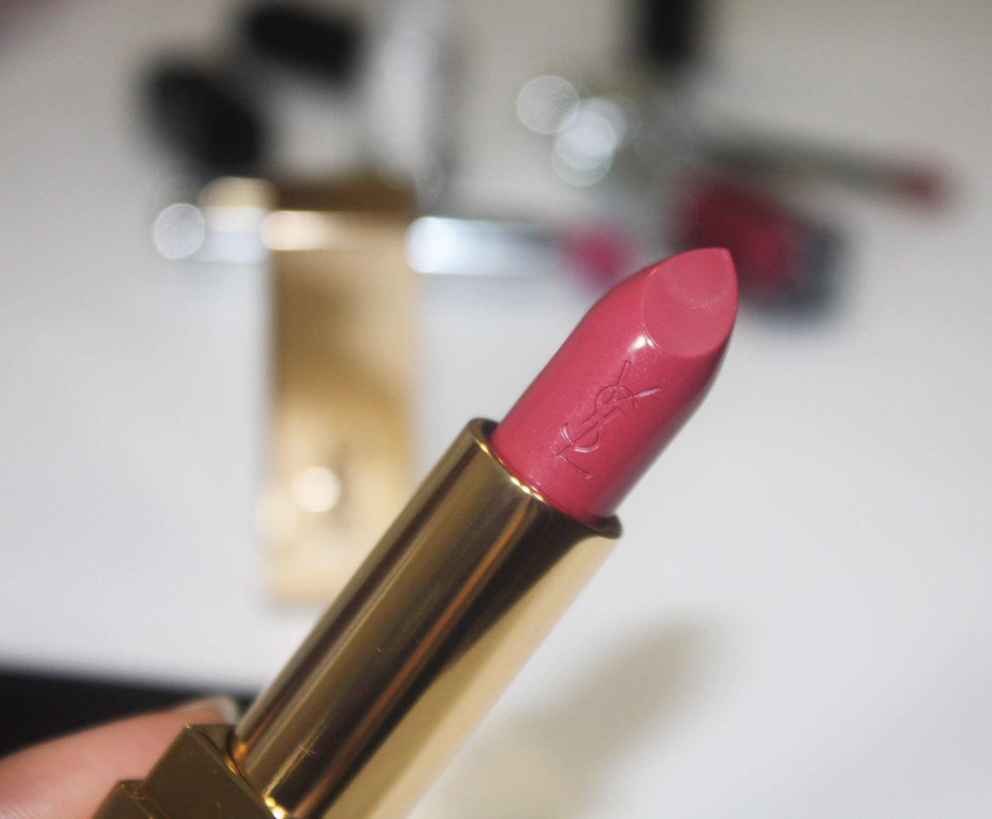 YSL Rouge Pur Couture Lipstick |Rose Stiletto