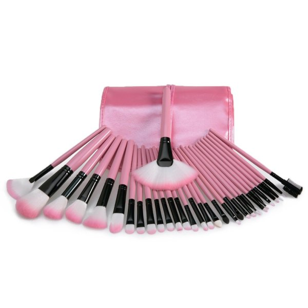sammydress-beauty-32Pcs-Makeup-BrushSet-with-Faux-Leather-Pure-Color-Bag