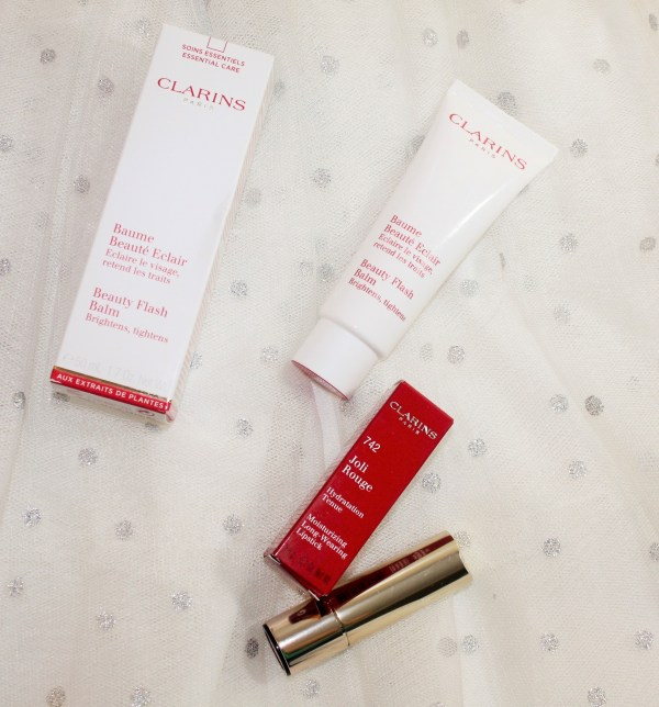 Clarins Joli Rouge Lipstick_ Clarins Beauty Flash Balm_new in from clarins004
