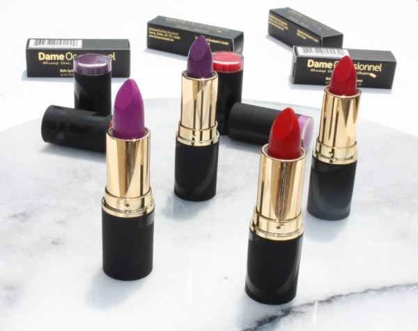 Dame Occasionnel Matte Lipstick Set-003