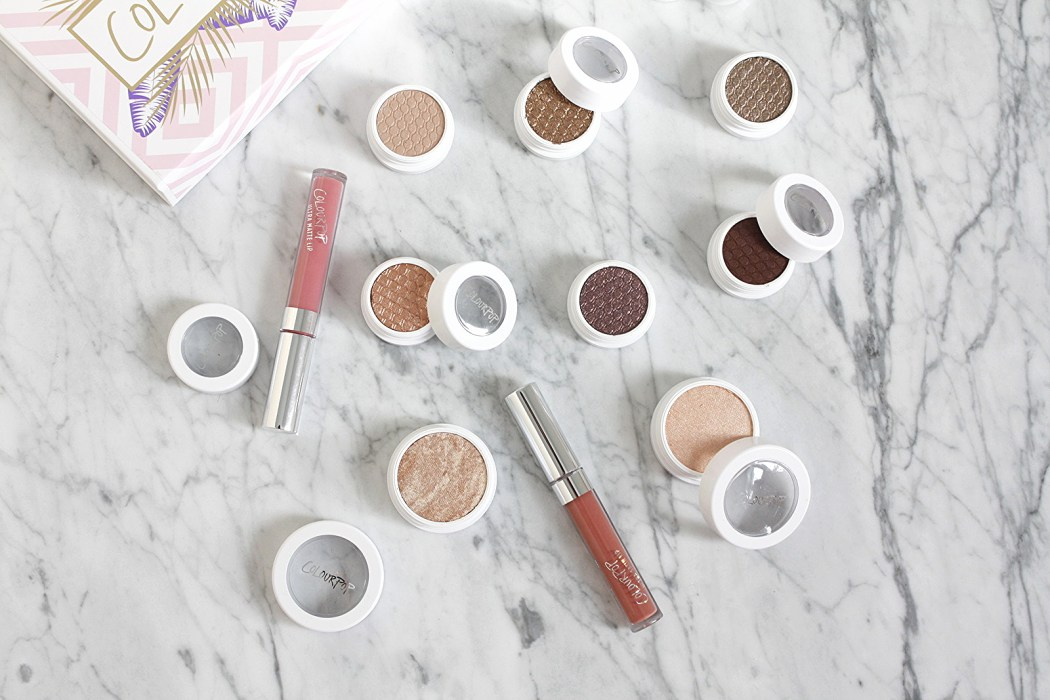 COLOURPOP COSMETICS EYESHADOWS, SUPER SHOCK HIGHLIGHTERS AND LIPSTICKS