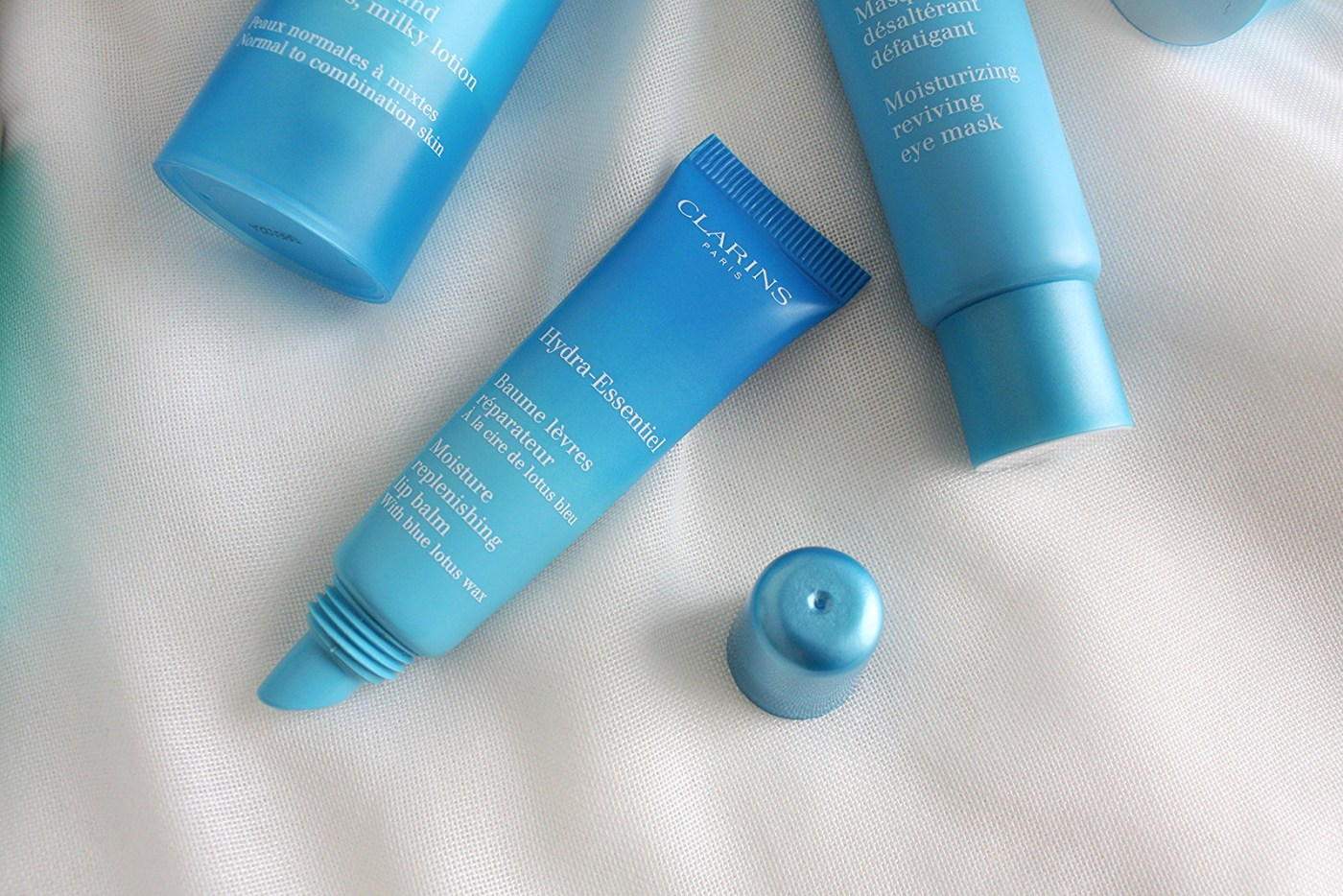 SKINCARE TESTING WITH CLARINS