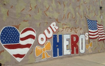 My heroes can spell. Tucson, AZ.